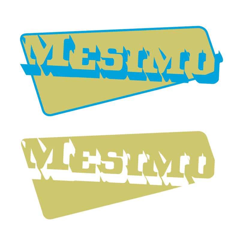 Logo voorstel Mesimu. Met vulling en zonder.